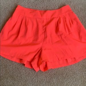 American Eagle Neon Pink Shorts